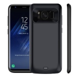 Galaxy S8 Plus Battery Case, Vproof 5500mAh Rechargeable External Battery Portable Charger Protective Charging Case Power Bank Cover for Samsung Galaxy S8+ 6.2